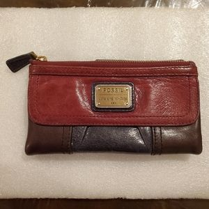 Fossil Emory Soft Leather Clutch Wallet